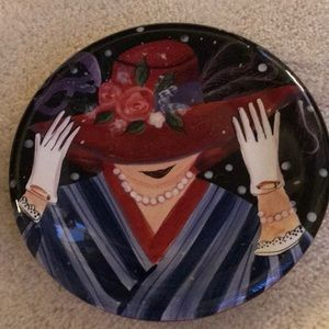 Red Hat Society plate